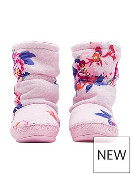 joules-girls-floral-slipper-boot