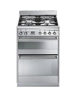 smeg-suk62mx8-60cmnbspwide-concert-dual-cavity-dual-fuel-cooker-stainless-steel