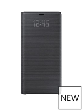 samsung-original-galaxy-note-9-led-view-cover-black