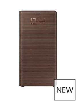 samsung-original-note-9-led-view-cover-brownnbsp