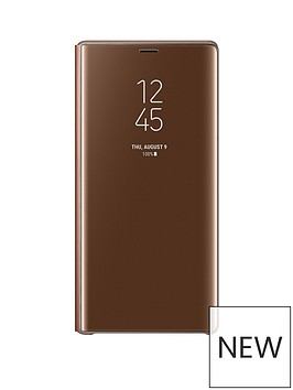 samsung-original-galaxy-note-9-clear-view-standing-cover-brown