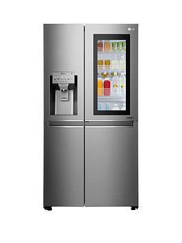 lg-lg-instaview-door-in-door-gsx961nsaz-american-style-fridge-freezer-premium-steel