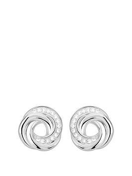 evoke-evoke-rhodium-plated-sterling-silver-swarovski-crystal-knot-stud-earrings