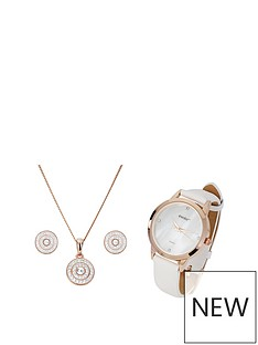 evoke-evoke-rose-gold-plated-sterling-silver-amp-swarovski-crystal-stud-earrings-pendant-amp-watch-set