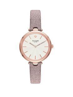 kate-spade-new-york-kate-spade-holland-textured-white-dial-pink-fabric-strap-ladies-watch