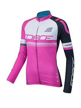 Force Lux Womens Long Sleeve Jersey