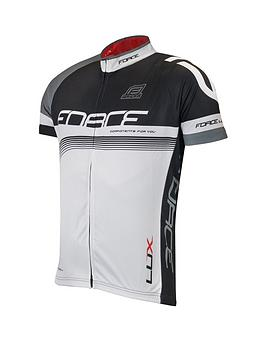 Force Lux Jersey - Black/White