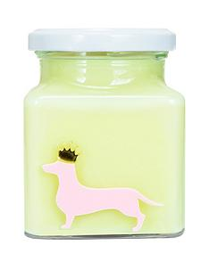 flamingo-candles-sausage-dog-candle