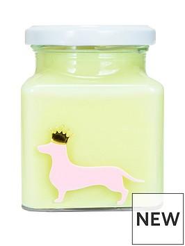 flamingo-candles-sausage-dog-candle