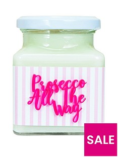 flamingo-candles-prosecco-all-the-way-candle