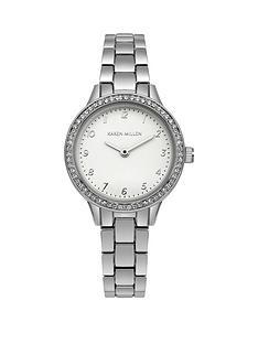 karen-millen-karen-millen-silver-crystal-set-dial-stainless-steel-bracelet-ladies-watch