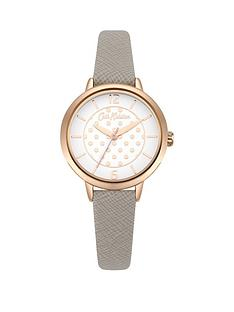 cath-kidston-matte-white-rose-gold-polka-dot-dial-grey-saffiano-leather-strap-ladies-watch