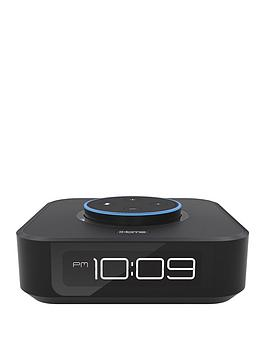 Docking Bedside Stereo Speaker And Clock For Amazon Echo Dot¿