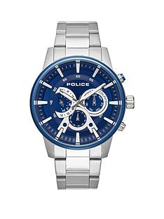 police-police-avondale-blue-and-silver-chronograph-dial-stainless-steel-bracelet-mens-watch