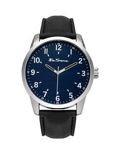 ben-sherman-ben-sherman-blue-dial-black-leather-strap-mens-watch