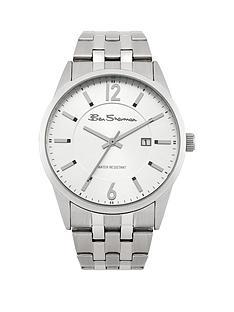 ben-sherman-ben-sherman-silver-dial-stainless-steel-bracelet-mens-watch