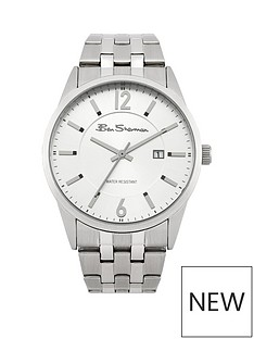ben-sherman-ben-sherman-silver-dial-stainless-steel-bracelet-mens-watch