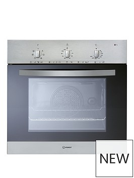 indesit-ifv5y0ix-60cm-built-in-single-electric-oven-with-optional-installation-stainless-steel