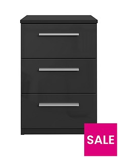 westbury-high-gloss-3-drawer-bedside-chest