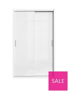 Westbury High Gloss 2 Door Sliding Wardrobe