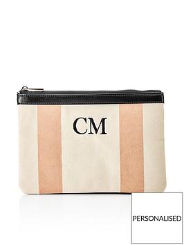 ha-designs-personalised-initial-canvas-clutch-blush-bag