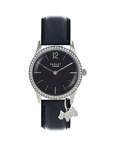 radley-radley-black-jewelled-dial-with-silver-dog-charm-and-black-leather-strap-ladies-watch