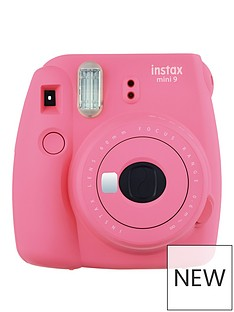 fujifilm-instax-instax-mini-9-instant-camera-with-10-or-30-pack-of-paper--nbspflamingo-pink