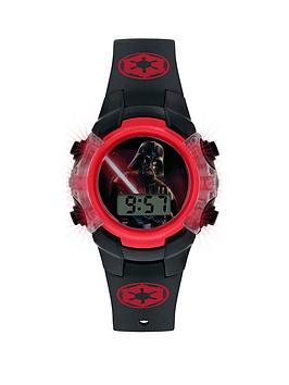 star-wars-star-wars-darth-vadar-printed-flashing-digital-dial-black-silicone-strap-kids-watch