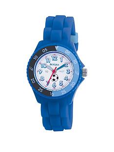 tikkers-white-and-blue-football-print-time-dial-blue-silicone-strap-kids-watch