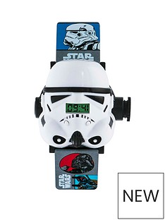 star-wars-star-wars-stormtrooper-3d-digital-projector-dial-printed-silicone-strap-kids-watch