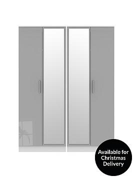 swift-montreal-4-door-tall-gloss-mirrored-wardrobe