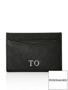 ha-designs-personalised-initial-black-card-holder