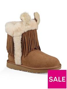 ugg-girls-darlala-classic-ll-boots-chestnut