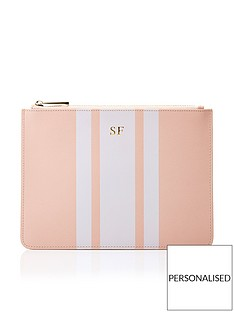 ha-designs-personalised-initial-pouch-blush-stripe-bag