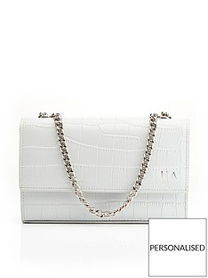 ha-designs-personalised-initial-grey-croc-chain-bag