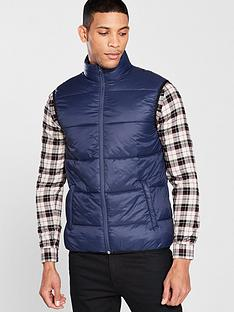 river-island-blue-padded-gilet
