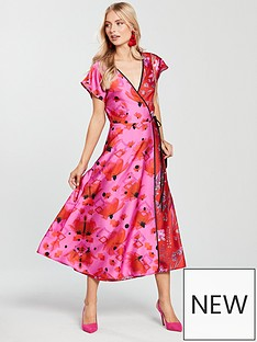 skeena-s-half-amp-half-fusion-wrap-midi-dress-pink