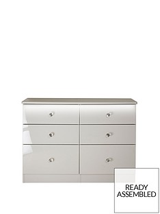swift-lumierenbspready-assembled-high-gloss-6-drawer-midi-chest-with-lights