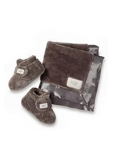 ugg-baby-bixbee-bootie-and-lovey-throw-gift-set