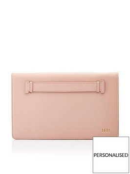 ha-designs-personalised-initial-leather-blush-clutch-bag