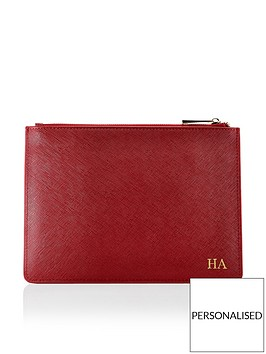 ha-designs-personalised-initial-pouch-berry-bag