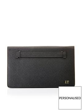ha-designs-personalised-initial-leather-black-clutch-bag-blackbr-br