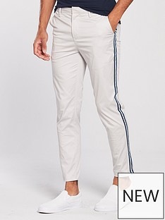 river-island-grey-tape-side-skinny-fit-trousers