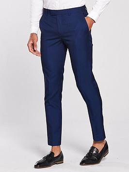 river-island-bright-blue-skinny-fit-suit-trousers