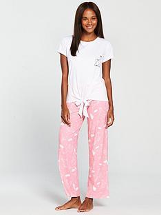 v-by-very-xmas-llama-pyjama-pinknbsp