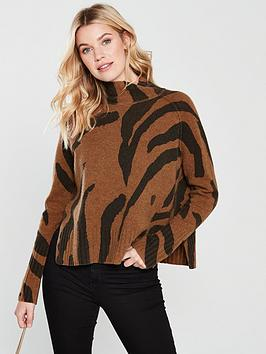 whistles-whistles-animal-print-funnel-neck-wool-knit