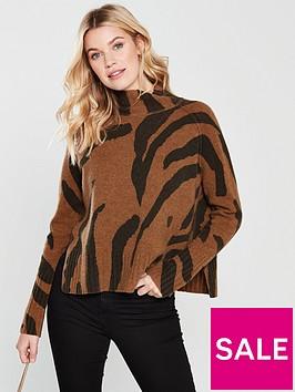 whistles-whistles-animal-print-funnel-neck-wool-knit
