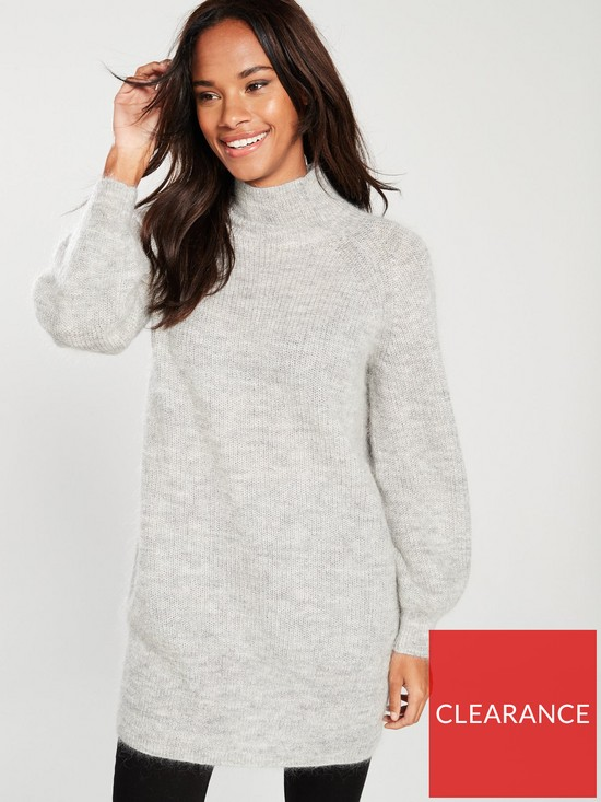 aa038cf96c1 WHISTLES Mohair Funnel Neck Tunic