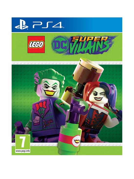 a7d8fa585ea0cf Playstation 4 LEGO DC Super Villains - PS4