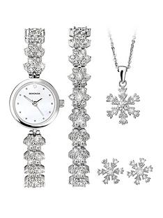 sekonda-sekonda-white-and-crystal-set-dial-crystal-snowflake-strap-ladies-watch-and-matching-bracelet-necklace-and-earrings-gift-set
